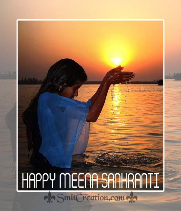 Happy Meena Sankranti