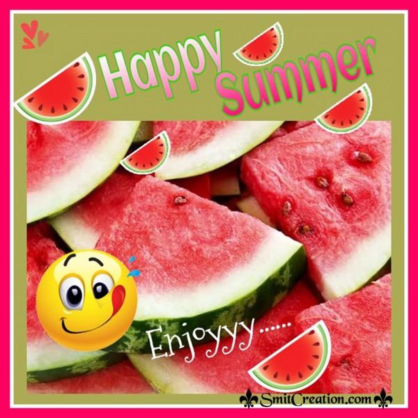 Happy Summer Enjoyyy…