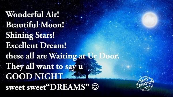 GOOD NIGHT sweet sweet DREAMS