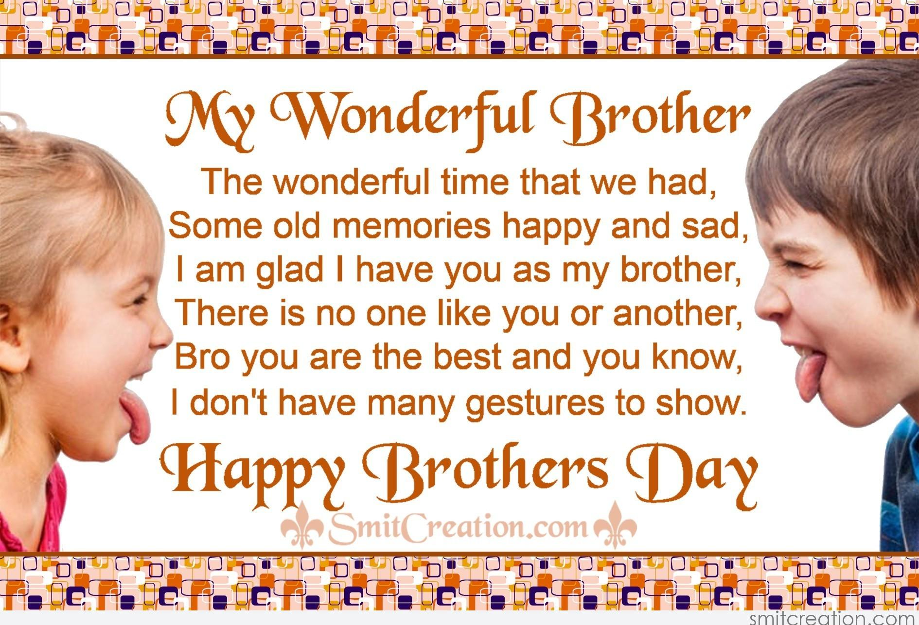 Is There A Brothers Day