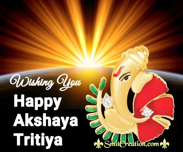 Wishing You Happy Akshaya Tritiya