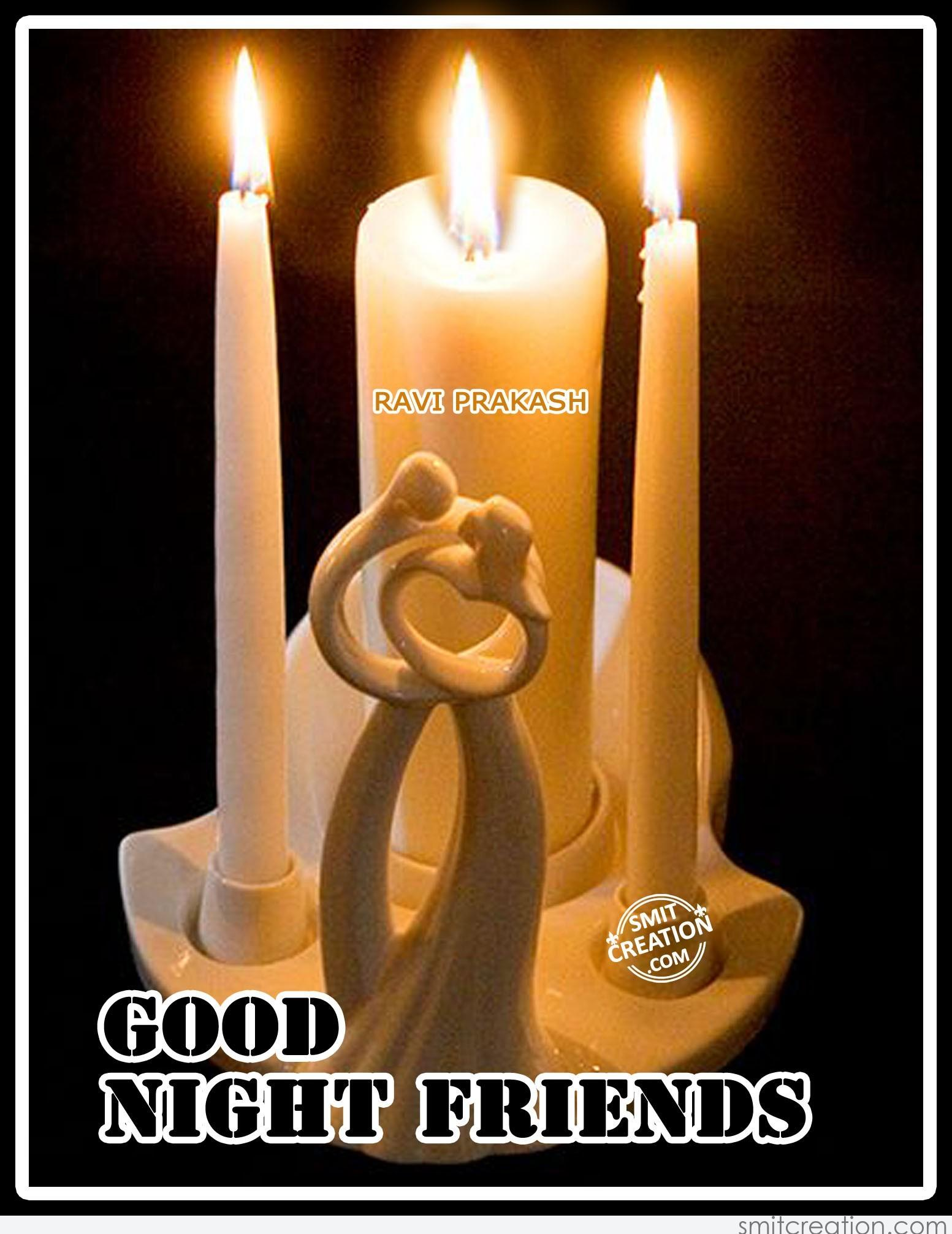 Good night wishes facebook friends