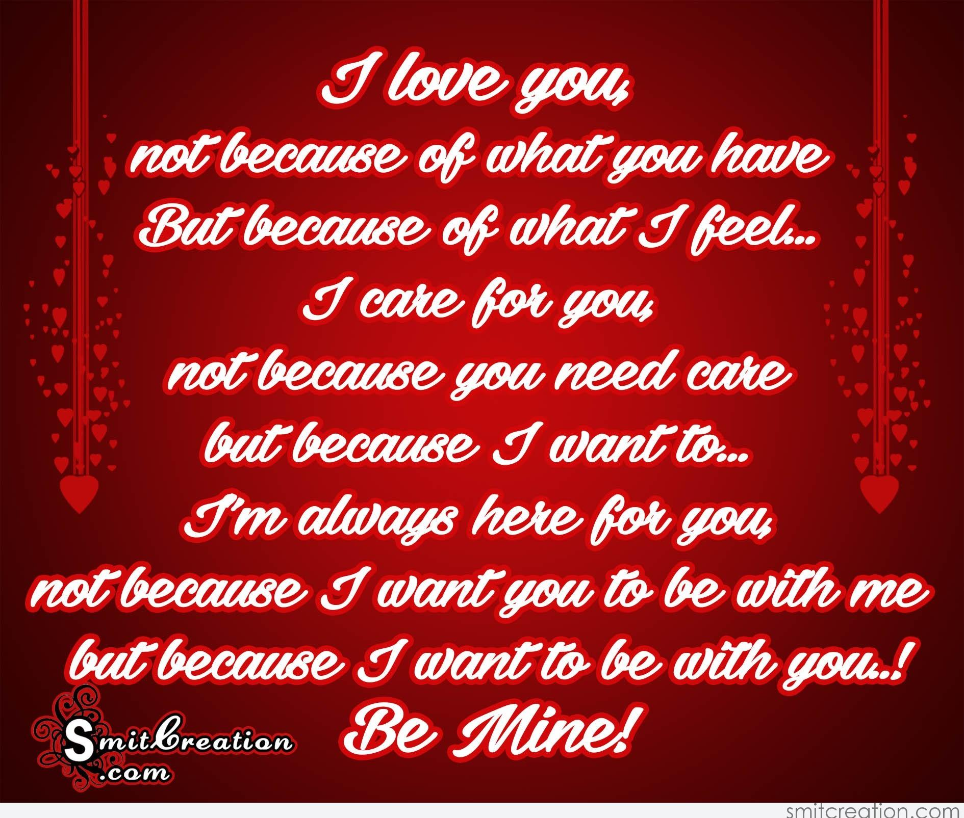 I Want To See You Smile Quotes: Be MIne Pictures And Graphics