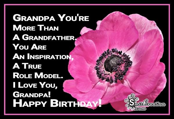 Happy Birthday Grandpa !
