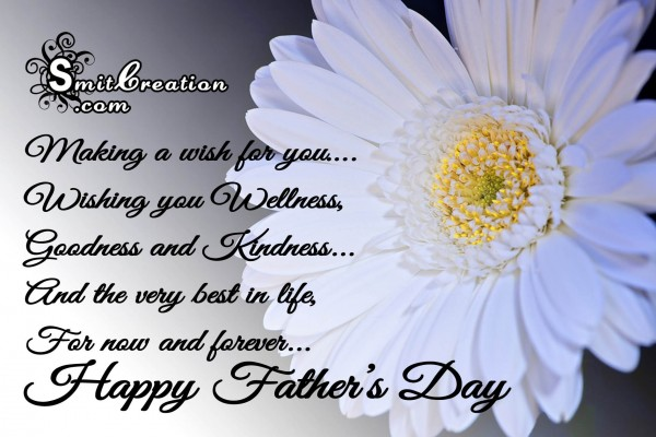 Happy Father's Day – Making a wish for you