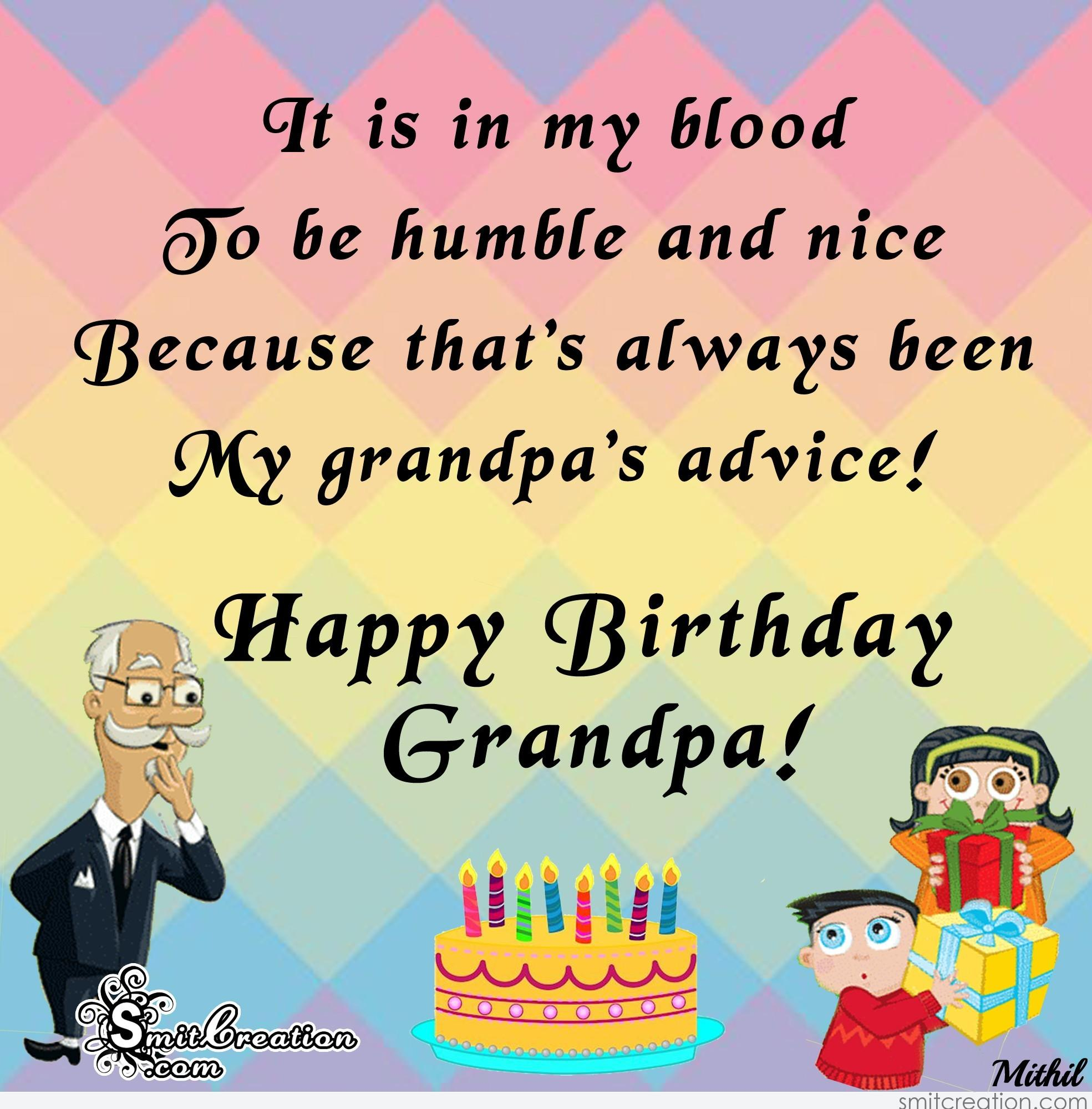 Birthday Wishes For Grandpa Pictures And Graphics Happy Birthday Wishes To Grandfather