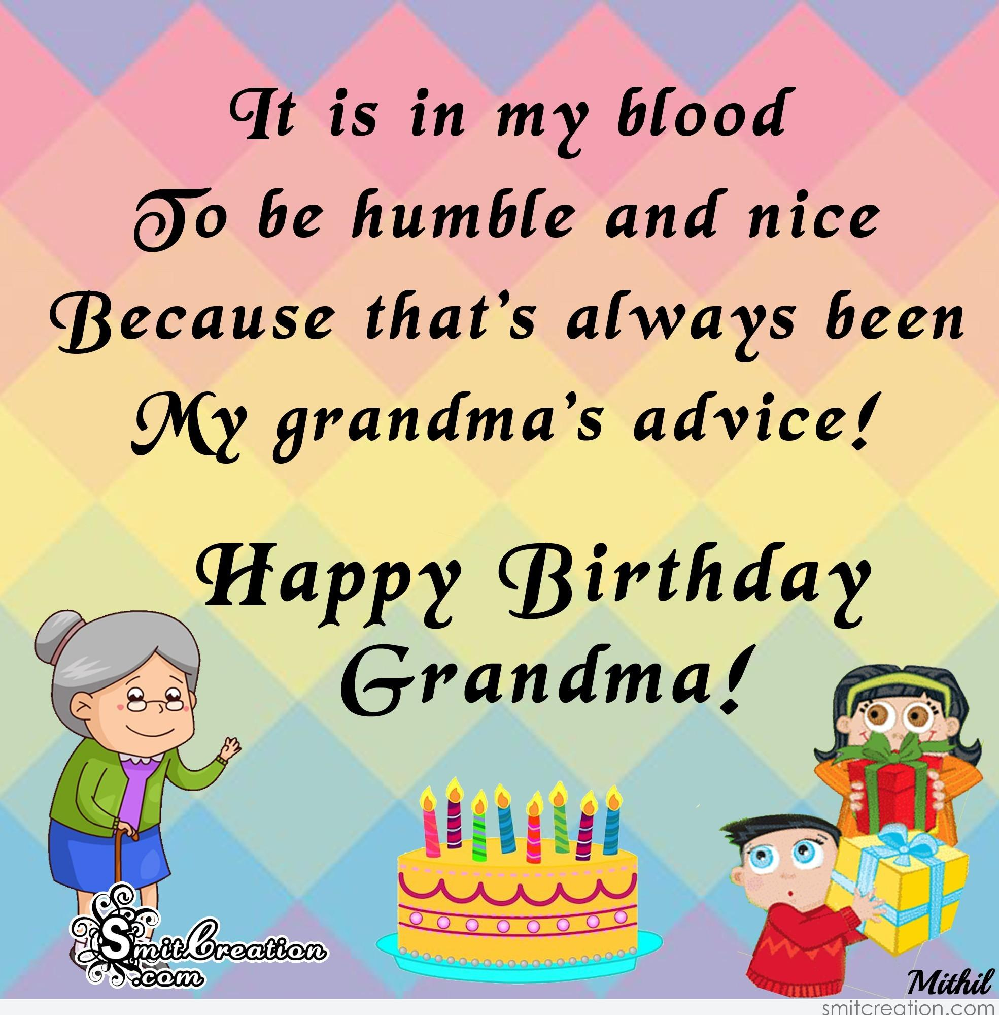 Birthday Wishes for Grandma Pictures and Graphics ...