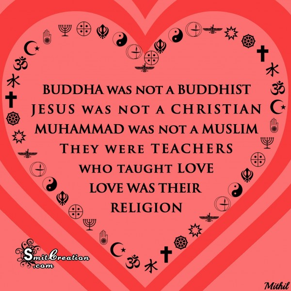 Love as religion