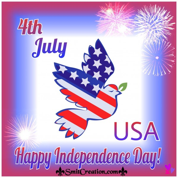 4th July – Happy Independence Day of USA