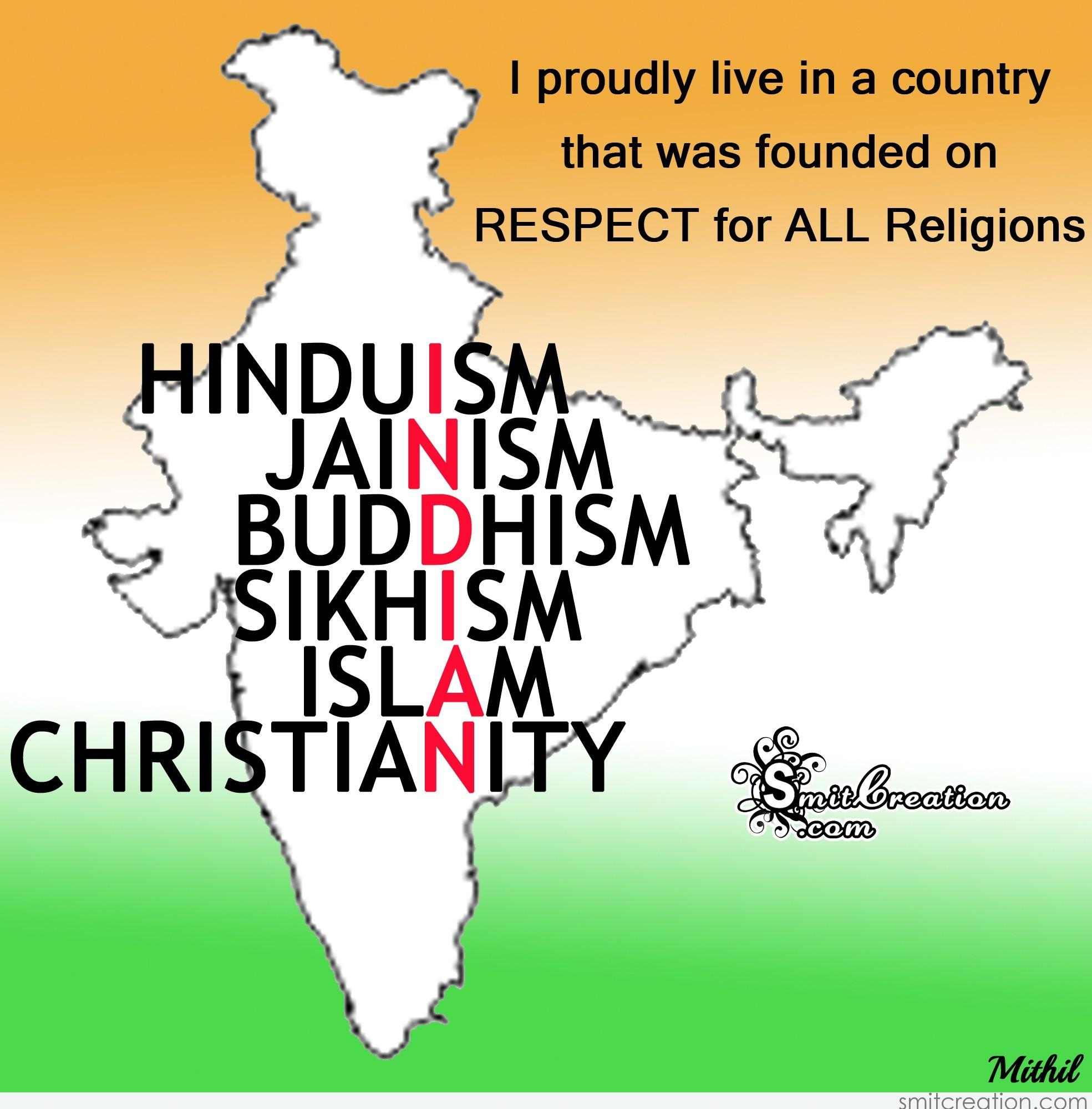 essays on respect for all religions Respect is a positive feeling or action shown towards someone or essay on respect respect scoreboard on respect and religion [dead link] what does.