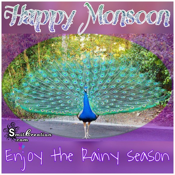 Happy Monsoon – Enjoy the Rainy Season