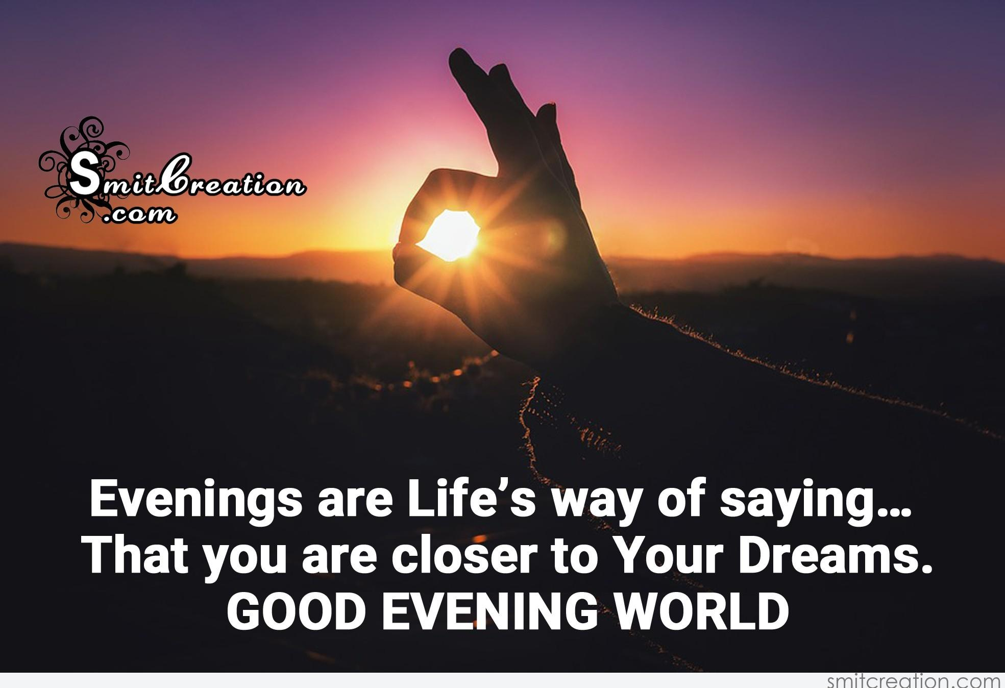 Top Best Good Evening Saying For Everyone Steemit