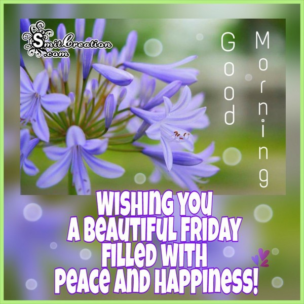 Good Morning _ Wishing You a Beautiful Friday