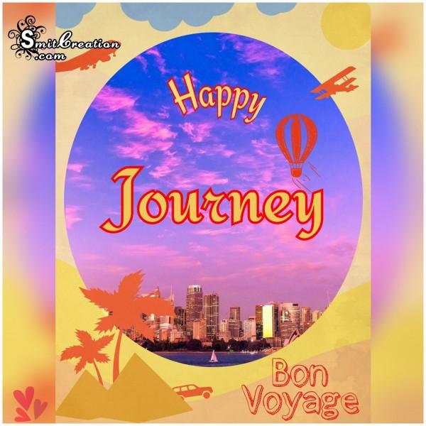 Happy Journey - Bon Voyage