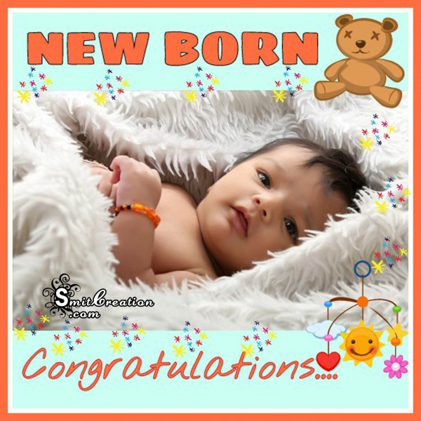 NEW BORN Congratualtion