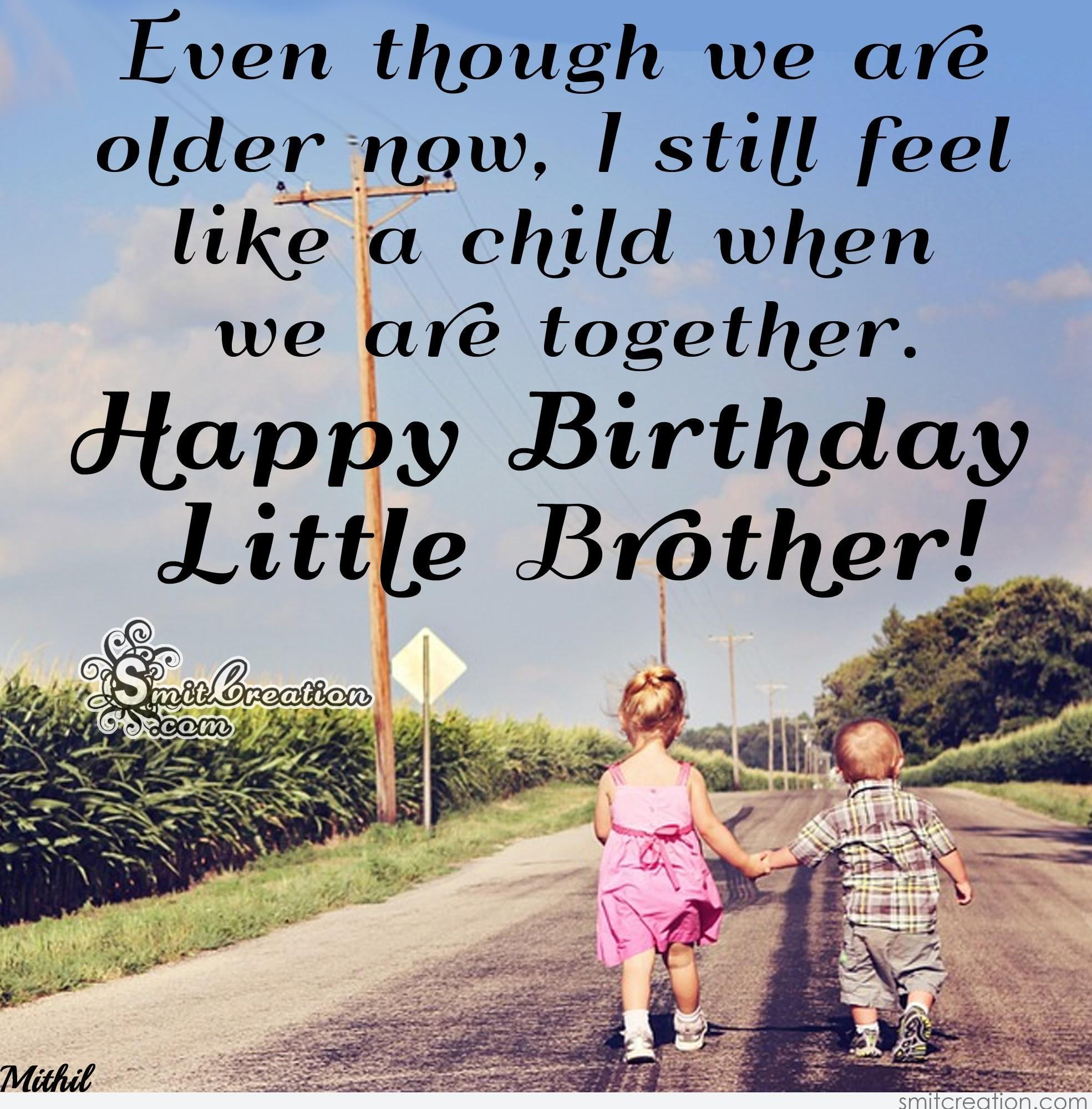 Quotes For Little Brothers Birthday: Birthday Wishes For Brother Pictures And Graphics