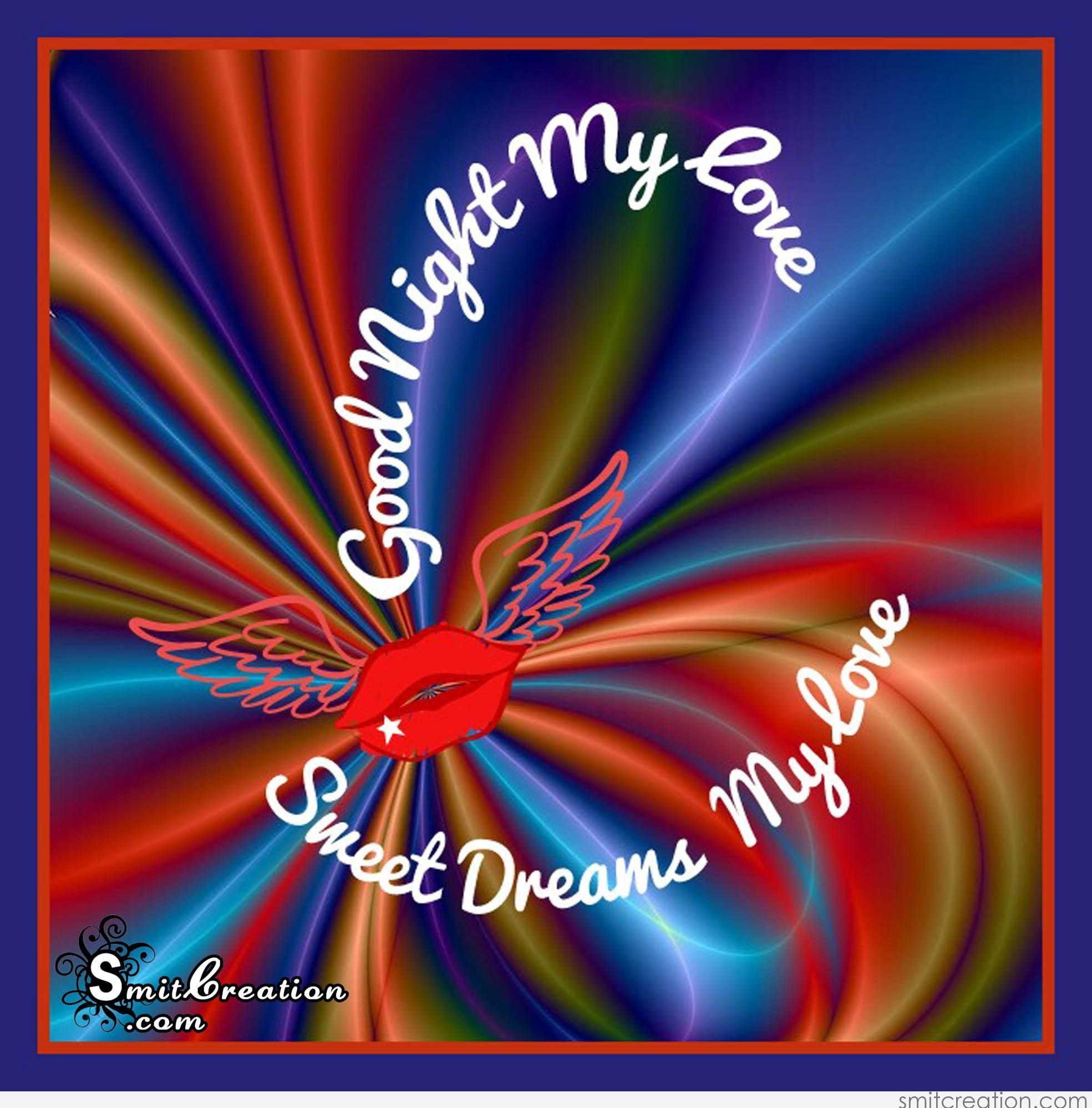 Good night my sweet love hd images