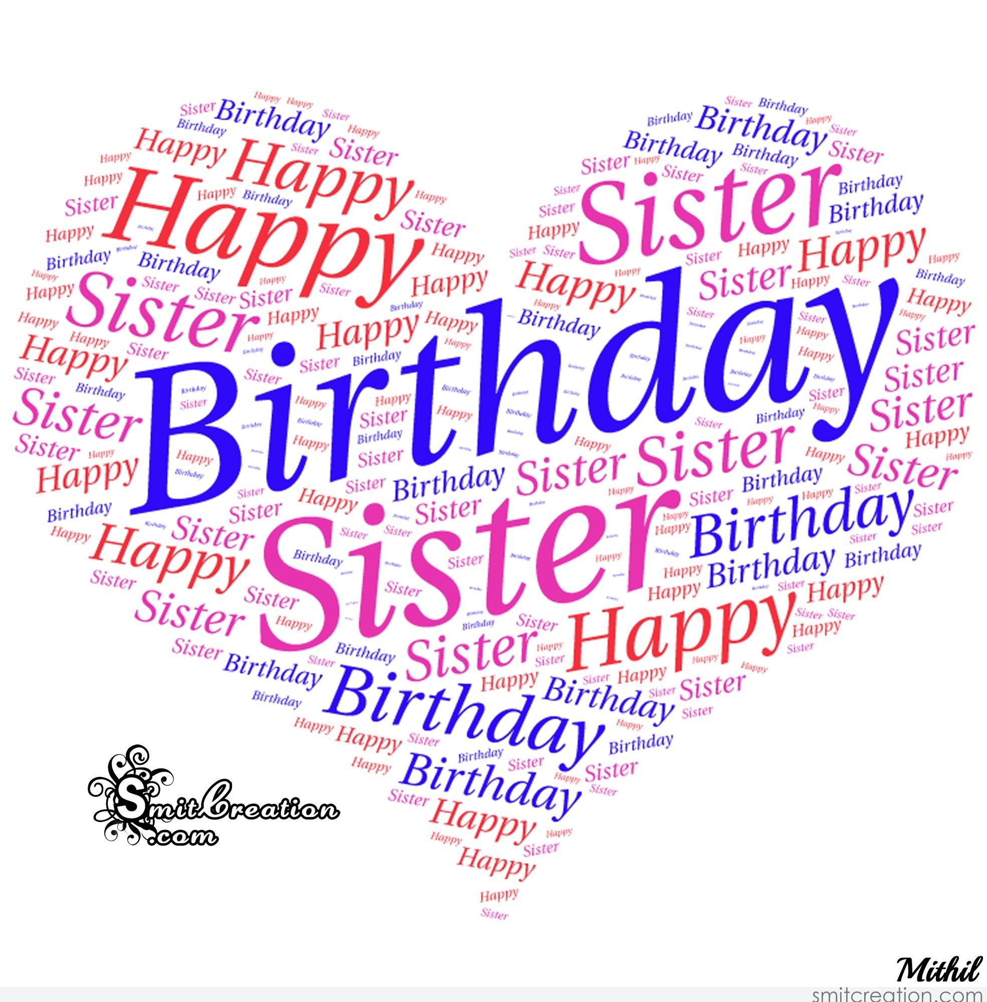 Birthday Wishes for Sister Pictures and Graphics ...