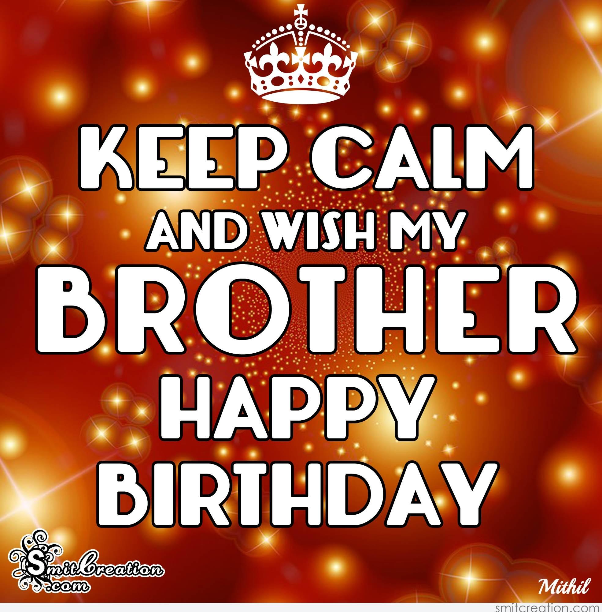 Birthday Wishes For Brother Pictures And Graphics