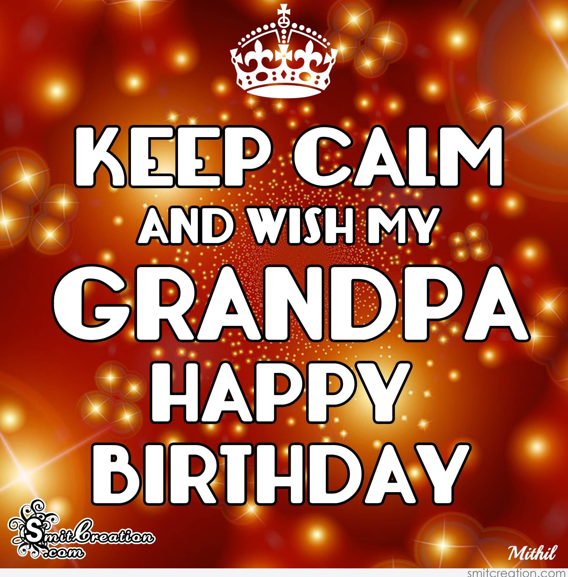 Birthday Wishes For Grandpa Pictures And Graphics