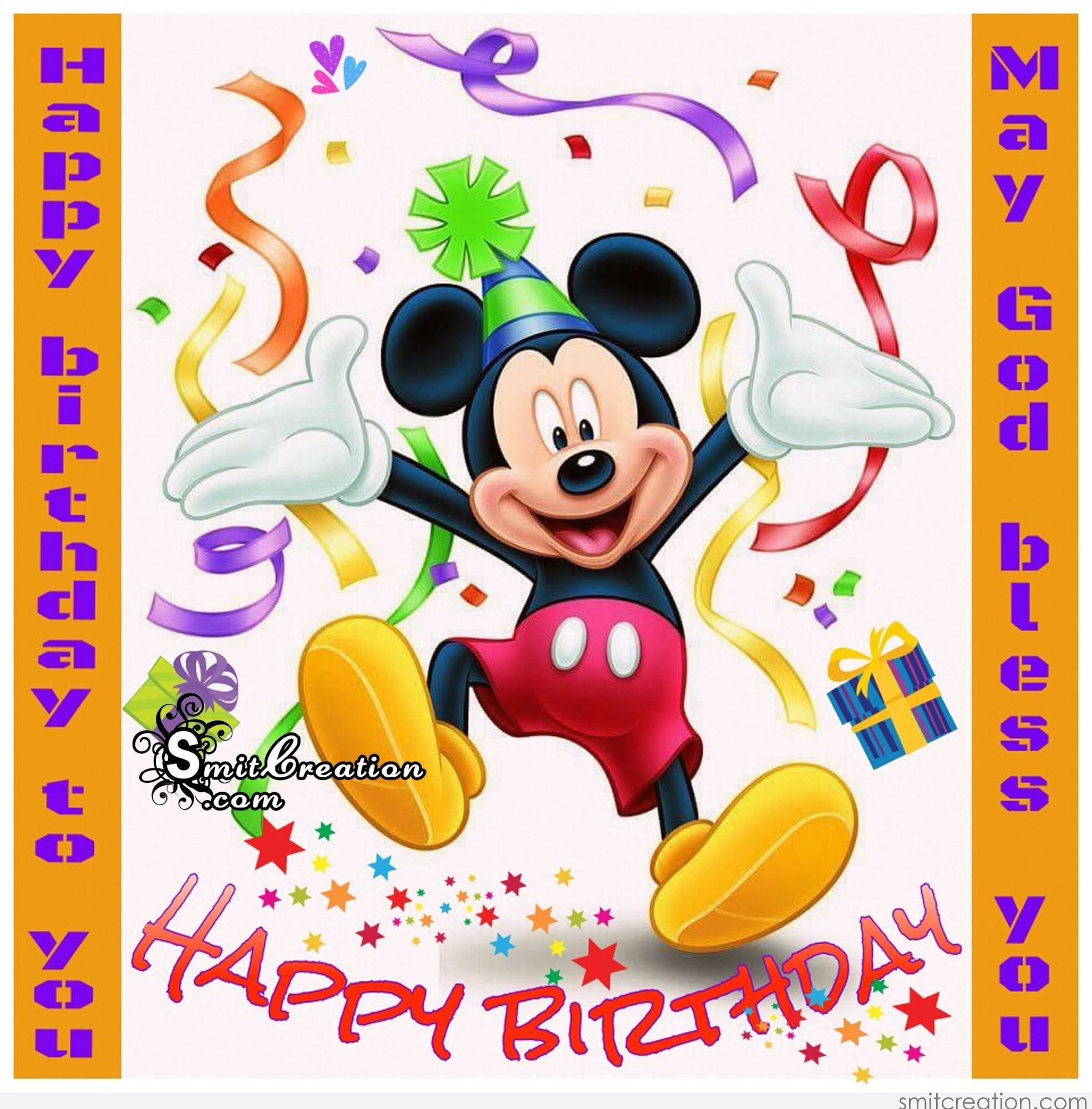 mickey birthday meme - 544×544