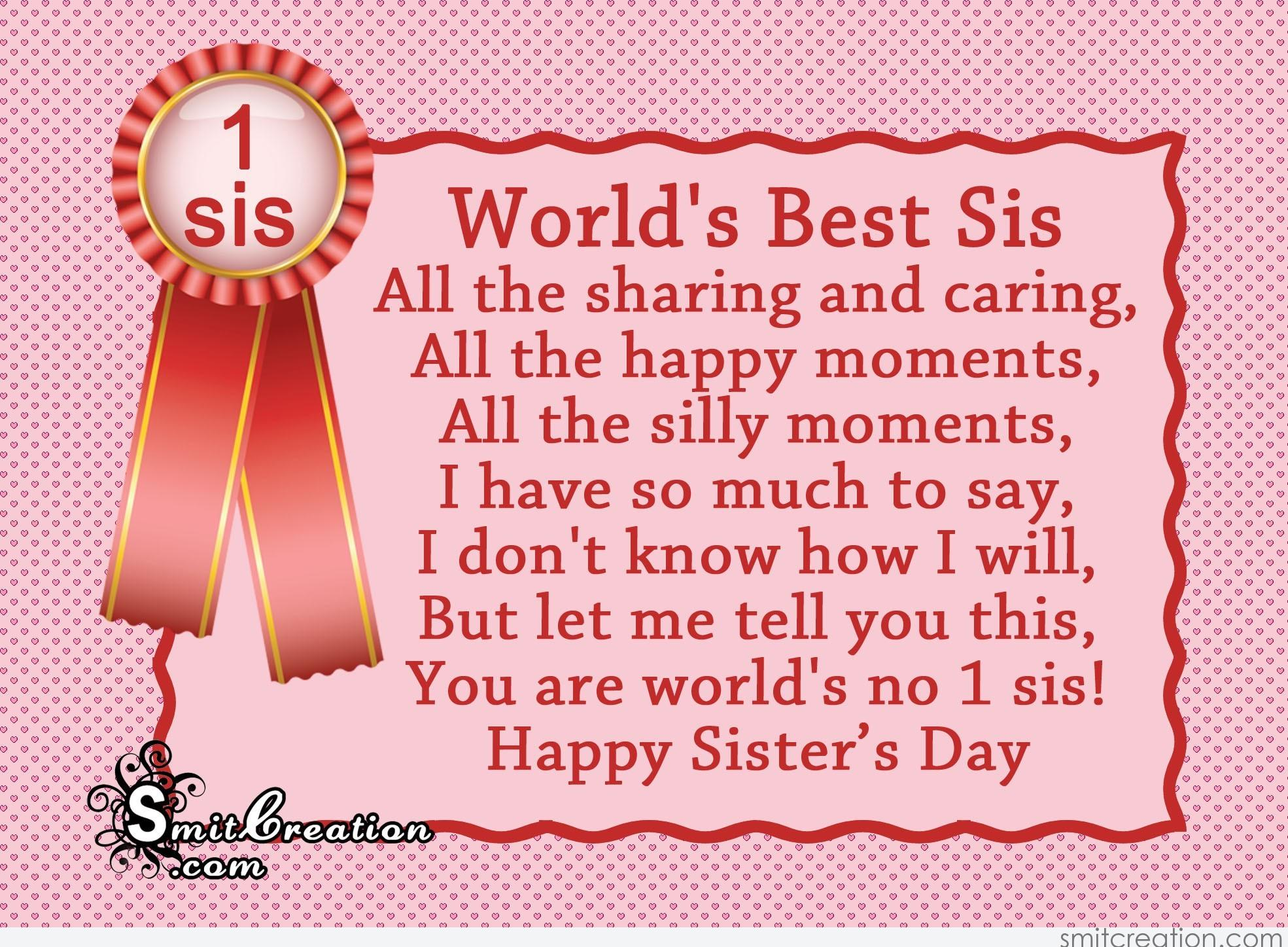 Sisters' Day 2019 Greetings and Instagram Captions ...  |Sisterhood Day