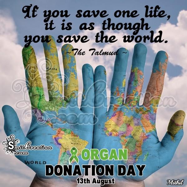 Save Life Save World