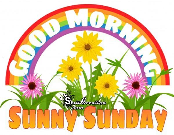 GOOD MORNING – SUNNY SUNDAY