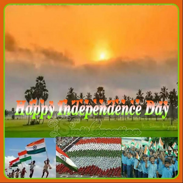 Happy Independence day – India