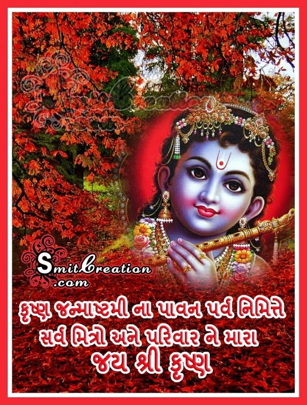Krishna Janmashtmi In Gujarati