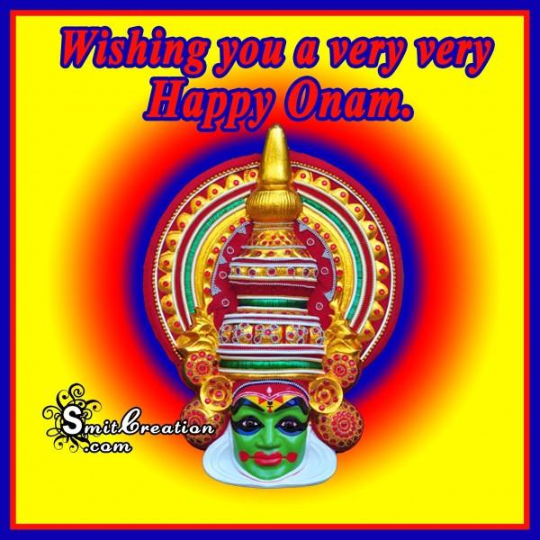 Wishing you a very very Happy Onam