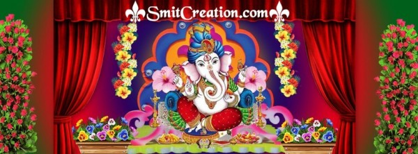 HAPPY GANESH CHATURTHI – FB COVER