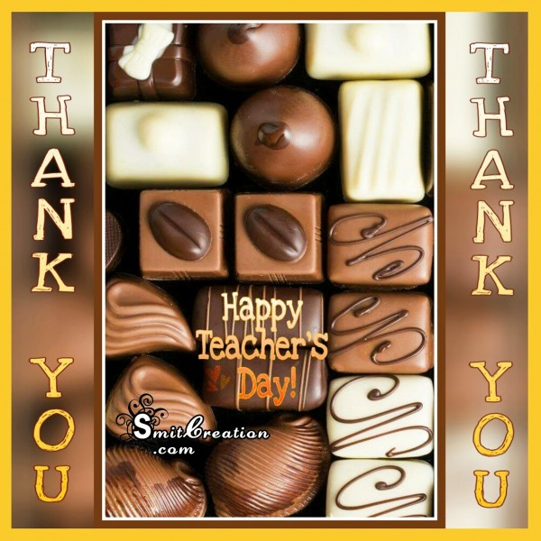 Happy Teacher's Day – Thank You