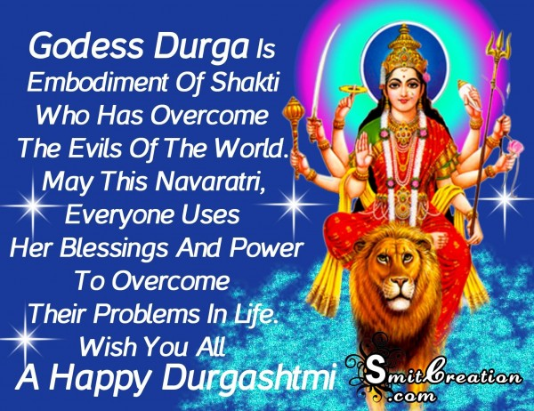 HAPPY DURGASHTMI