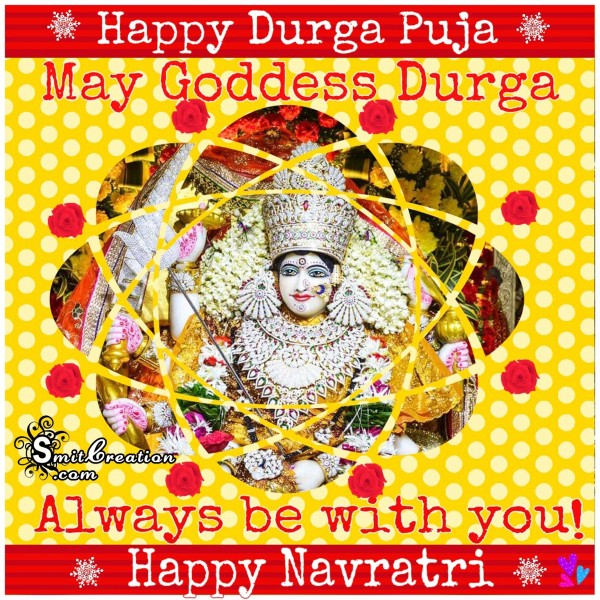 Happy Durga Puja - Happy Navratri