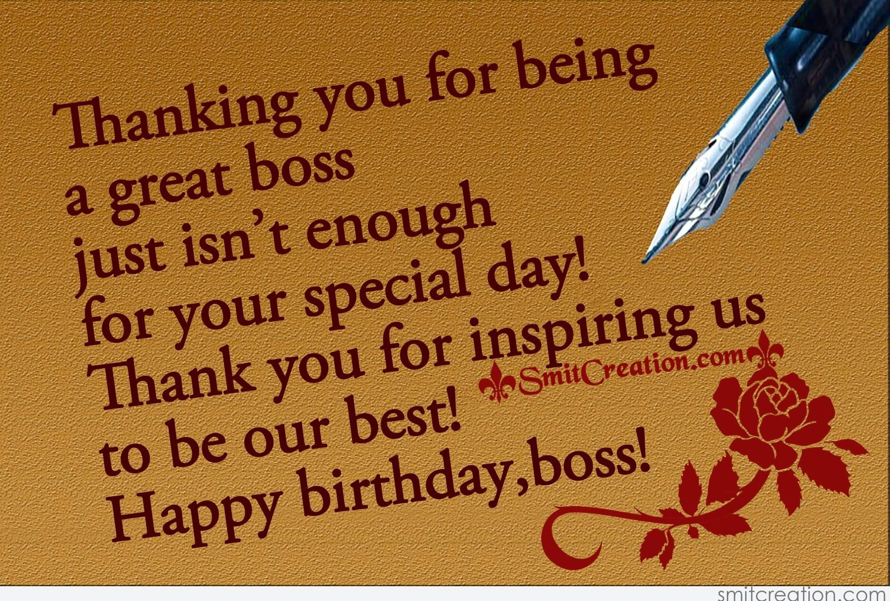 Best Happy Quotation For You: Birthday Wishes For Boss Pictures And Graphics