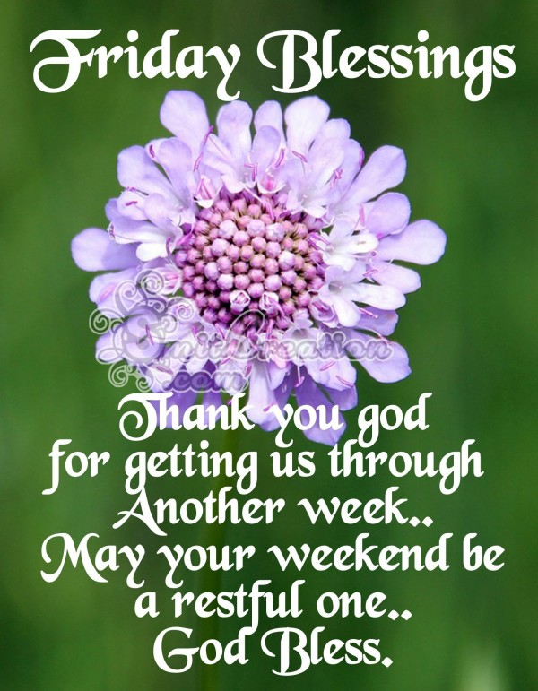 Friday Blessings