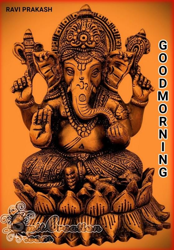 GOOD MORNING - GANESHA