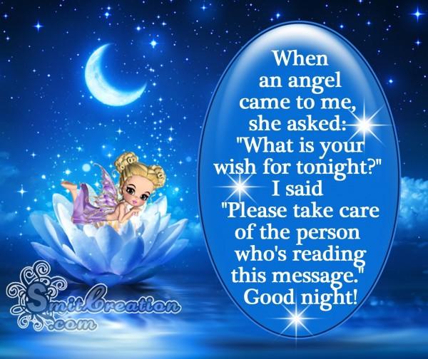 Good night! – Angel message