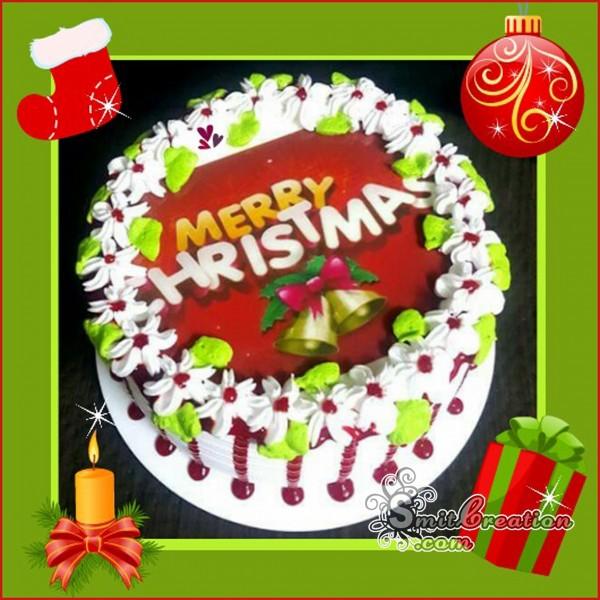 Merry Christmas Cake