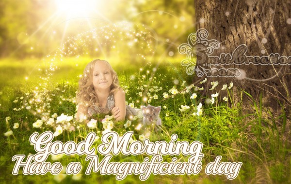 Good Morning Have a Magnificient day