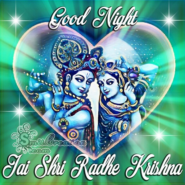 Good Night Jai Shri Radhe Krishna