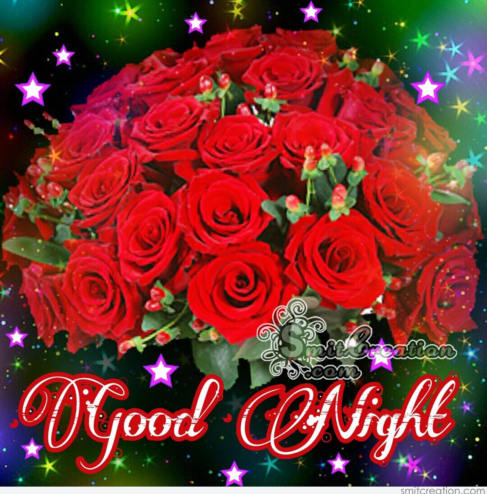 Good Night Flower Image Smitcreationcom