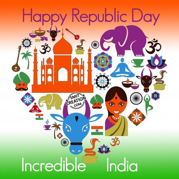 Happy Republic Day - Incredible India
