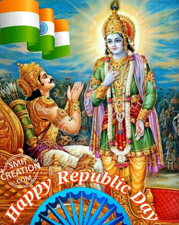 Happy Republic Day  Krishna
