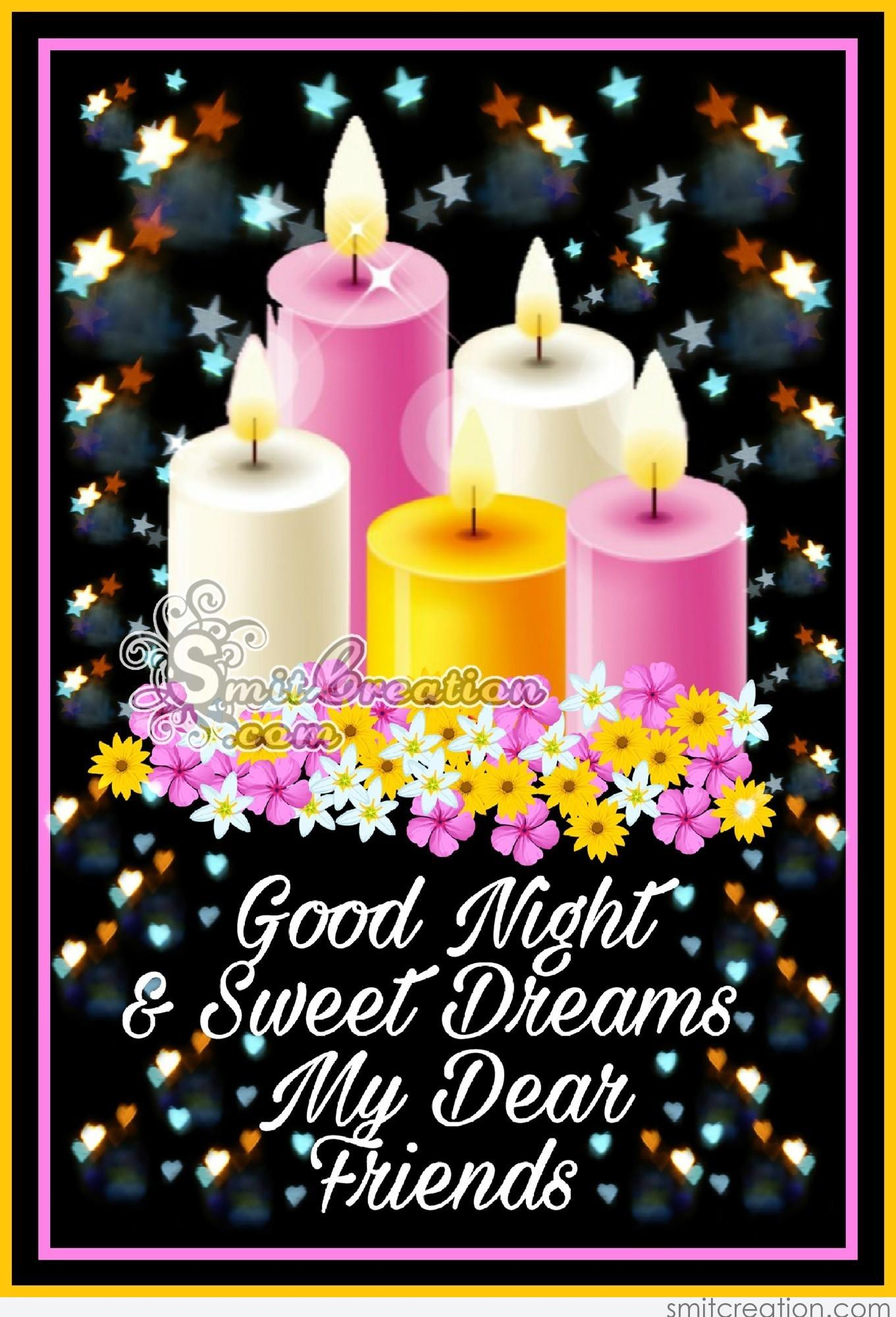 Good Night Friends Pictures And Graphics Smitcreationcom Page 2