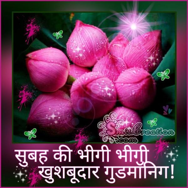 Subah Ki Bhigi Bhigi Khushbudar Good Morning