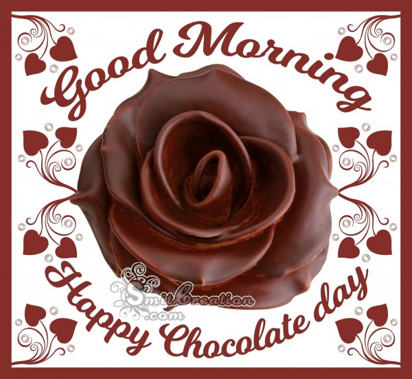 Good Morning Happy Chocolate Day