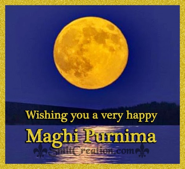Wishing you a very happy Maghi Purnima