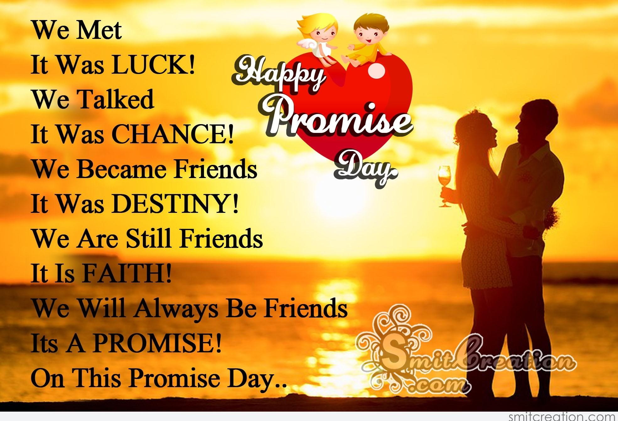 Happy Promise Day Quotes For Friends: We Will Always Be Friends